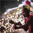 Spider-Man lors de sa dernière apparition au cinéma dans The Amazing Spider-Man 2.