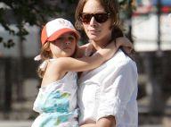 REPORTAGE PHOTOS : Quand le top Christy Turlington emmène son adorable fille à l'école...