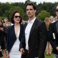 Michelle Dockery et John Dineen lors de la Queens Cup de Polo à Windsor, le 15 juin 2014. Selon les médias britanniques, en février 2015, la star de Downton Abbey et son amoureux se sont fiancés.