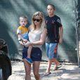 Reese Witherspoon va voir l'avancement des travaux de sa nouvelle maison avec