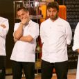 L'équipe de Philippe Etchebest dans Top Chef 2015, sur M6, le lundi 16 février 2015