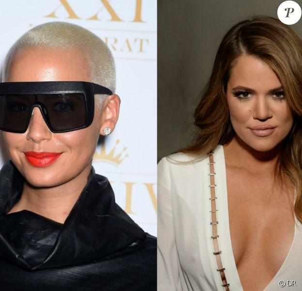 Amber Rose et le clan Kardashian, défendu par Khloé, sont en froid. Les insultes ont fusé sur Twitter, suite à des propos d'Amber concernant les soupçons de relation amoureuse entre Tyga et Kylie Jenner.