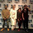 Amber Rose interviewée par DJ Envy, Angela Yee et Charlamagne tha God dans The Breakfast Club, pour Power 105.1. Février 2015.