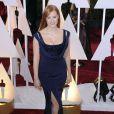Jessica Chastain dans une robe Givenchy Couture - 87e cérémonie des Oscars le 22 février 2015 à Los Angeles