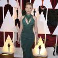 Scarlett Johansson à la 87e cérémonie des Oscars à Hollywood, le 22 février 2015.