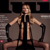 "Natasha Poly : Look et pose torrides pour ""Lui"""