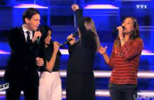 The Voice 4 : Le show des coachs sur ''Come Together'' des Beatles !