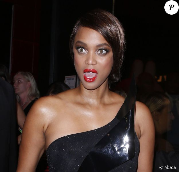 Tyra Banks attends America's Next Top Model Cycle 21 premiere party in Hollywood, Los Angeles, CA, USA, on August 20, 2014. Photo by Julian Da Costa/ABACAPRESS.COM21/08/2014 - Los Angeles