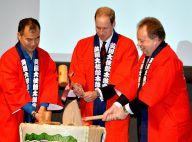 Prince William : Pluie, saké et thé, un premier voyage au Japon bien arrosé !