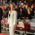 """Robin Wright - Première de la saison 3 de la série """"House of Cards"""" à Londres, le 26 février 2015."""