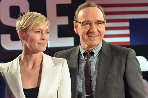 House of Cards, saison 3 : Robin Wright, sublime au bras de Kevin Spacey