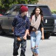 Justin Bieber et Selena Gomez à Los Angeles le 5 avril 2012