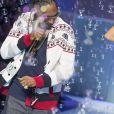Snoop Dogg - Défilé Etam Lingerie à la piscine Molitor à Paris, le 3 mars 2015.