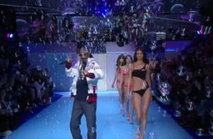 Snoop Dogg enflamme le Etam Show devant Pauline Lefèvre et Natalia Vodianova