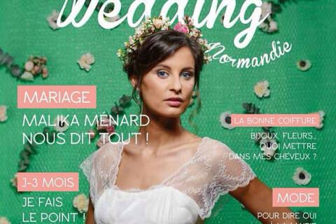 Malika Ménard : Divine mariée pour ''Wedding Normandie'' !