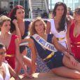 Les Miss France Camille Cerf, Malika Ménard, Flora Coquerel, Laury Thilleman et Delphine Wespiser, sublimes, lors de leur croisière entre la Martinique, la Guadeloupe et le Venezuela