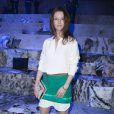 Audrey Marnay assiste au défilé H&M Studio automne-hiver 2015-2016 au Grand Palais. Paris, le 4 mars 2015.