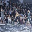 Défilé H&M Studio automne-hiver 2015-2016 au Grand Palais. Paris, le 4 mars 2015.