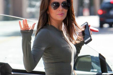 Eva Longoria : Plus sexy que jamais en robe ultra moulante...