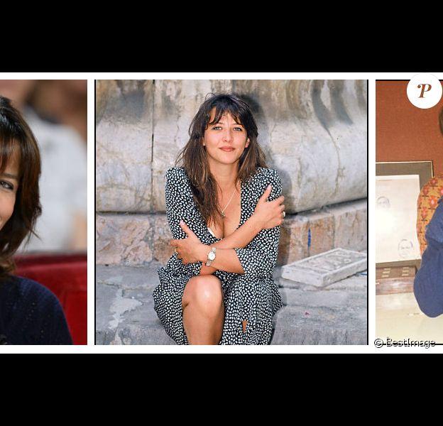 Montage de 3 photos de Sophie Marceau de l'agence ©BestImage