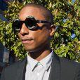 """Pharrell Williams arrive au procès qui l'oppose avec Robin Thicke, interprètes de """"Blurred Lines"""", à la famille de Marvin Gaye au tribunal à Los Angeles, le 5 mars 2015."""