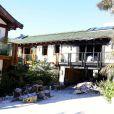 La villa, en partie incendiée, de Pierce Brosnan à Malibu. Février 2015