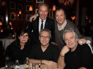 Ruquier, Pierre Arditi, Daniel Russo et leurs femmes réunis pour un dîner chic