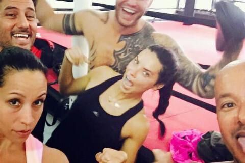 Adriana Lima : De nouveau amoureuse, d'un grand tatoué...