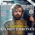 La couverture d'Entertainment Weekly avec Peter Dinklage (Tyrion Lannister)