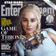 La couverture d'Entertainment Weekly avec Emilia Clarke (Daenerys Targaryen)