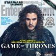 La couverture d'Entertainment Weekly avec Kit Harington (Jon Snow)