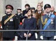 Kate Middleton enceinte et la famille royale, solennels, honorent 453 disparus