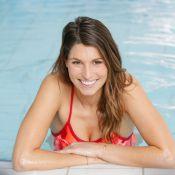 Laury Thilleman : Sexy nageuse, affronte un défi face à Camille Lacourt