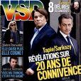 Couverture du magazine VSD en kiosques jeudi 19 mars 2015