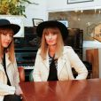 Exclusif - Brigitte (Sylvie Hoarau et Aurélie Saada) - Les artistes se mobilisent pour sauver le festival LE MAS lors du tournage d'un clip au restaurant Les Niçois à Paris le 11 mars 2015.