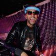 DJ Assad lors des 20 ans de l'établissement La Plage-Le Club à Bordeaux, qui se tenait du 12 au 15 mars 2015