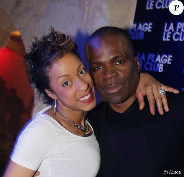 Myas et Ménélik lors des 20 ans de l'établissement La Plage-Le Club à Bordeaux, qui se tenait du 12 au 15 mars 2015