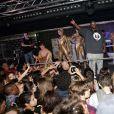 Big Ali lors des 20 ans de l'établissement La Plage-Le Club à Bordeaux, qui se tenait du 12 au 15 mars 2015