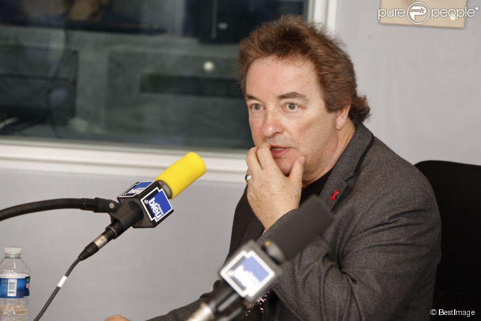"""Richard Dewitte à l'émission """"On repeint la musique"""" à Paris, le 28 mars 2012"""