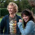 Lucie Lucas et Mathieu Spinosi, interprètes des personnages de Clem et Julien, dans la série  Clem  sur TF1.