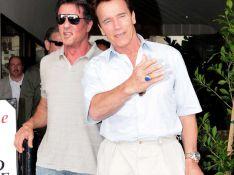 PHOTOS : Quand Rambo retrouve Terminator, il lui montre son dernier joujou !