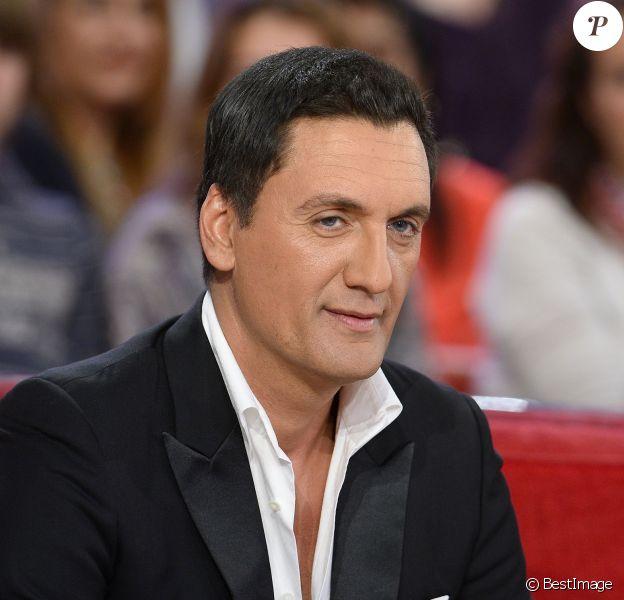 """Dany Brillant - Enregistrement de l'émission """"Vivement Dimanche"""" à Paris le 11 Fevrier 2015."""