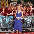 J.K Rowling à la première de Harry Potter et le prince de sang-mêlé, le 7 juillet 2009 à Londres.