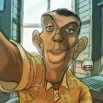 Stromae sur Instagram, un compte illustré par des dessins de Sylvain Chomet.