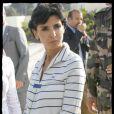 Rachida Dati lors de sa visite diplomatique en Israël