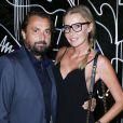 """Henri Leconte et sa femme Florentine - Soiree """"J'aime la Mode"""" au Mandarin Oriental à Paris le 29 septembre 2014."""