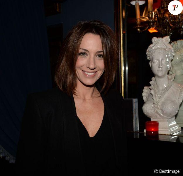 Exclusif - Virginie Guilhaume - Soirée pour les 15 ans de Hôtels & Préférence au restaurant Lapérouse à Paris, le 1er avril 2015.
