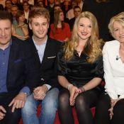 Sophie Davant et Pierre Sled : Réunis avec leurs enfants pour Michel Drucker