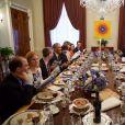 Le président Barack Obama et sa femme Michelle ont donné le dîner pour Pessah (Pâques juive) à la Maison Blanche à Washington. Le 3 avril 2015