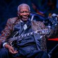 Le guitariste de blues B.B. King à Las Vegas, le 27 septembre 2014.